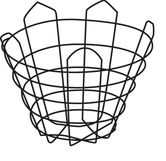"14"" Cone Wire Basket"