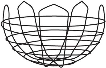 "36"" Optimal Wire Basket"